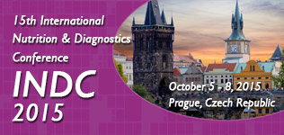 15<sup>th</sup> International Nutrition & Diagnostics Conference (INDC 2015)
