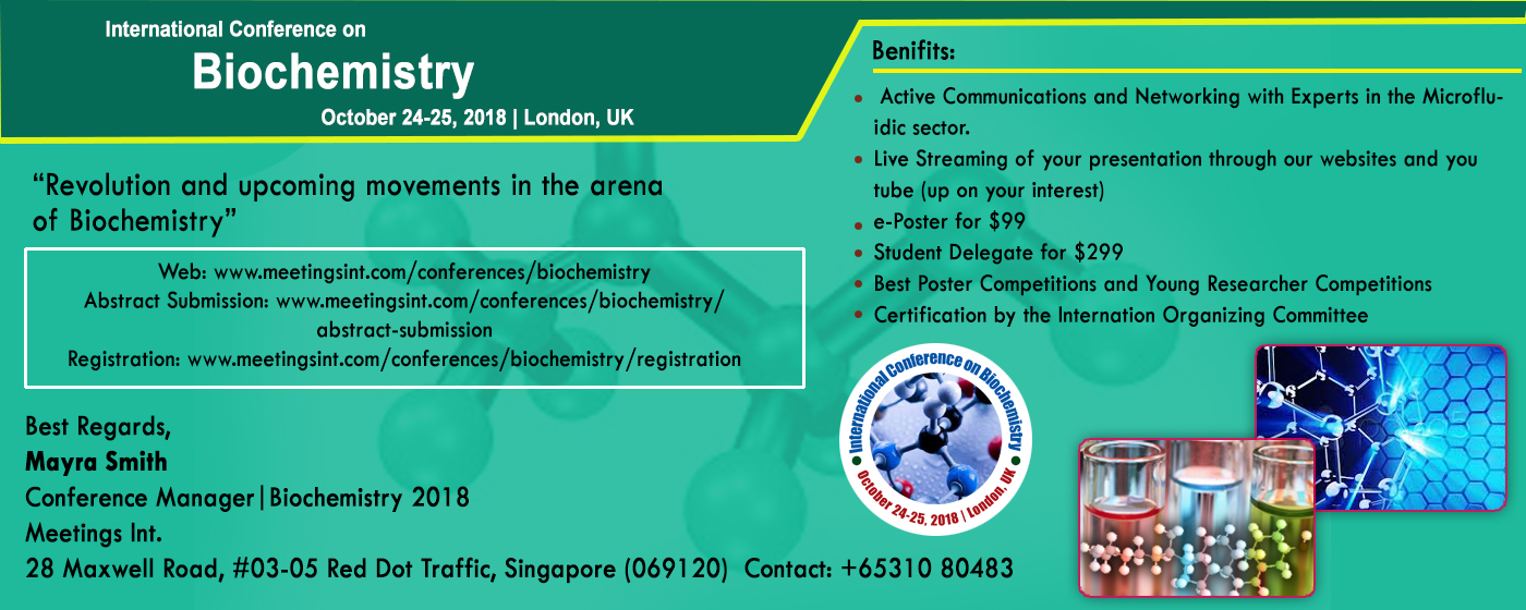 International Conference on Biochemistry