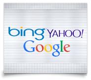 Bing, Yahoo, Google