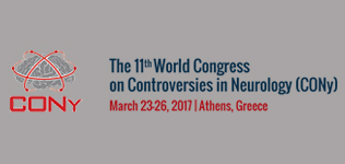 11<sup>th</sup> World Congress on Controversies in Neurology (CONy)